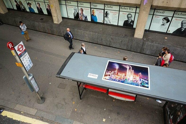 Przystanki autobusowe – nowe galerie sztuki? / ArtBiznes