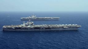 Zmiana warty w Zatoce Perskiej - spotkanie lotniskowców
