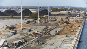 Trwa budowa terminalu dla największych statków kontenerowych