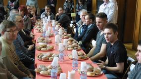 Mistrzostwa Poznania w jedzeniu pączków na czas