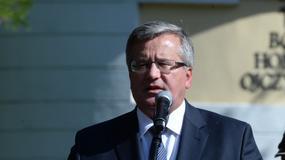Prezydent Komorowski wolałby, żeby MSZ pozostało w starym składzie