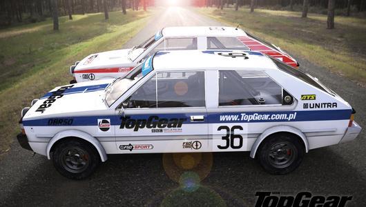 Polonez Coupe 2000 Rally TopGear Polska w grze Assetto Corsa