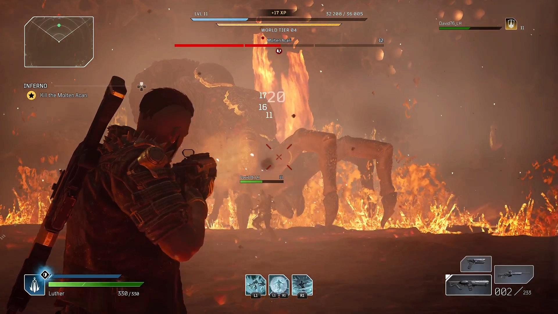 Boj proti hordám nepriateľov občas vystrieda stret s bossom. Práve vtedy sa ti zíde spoluhráč.