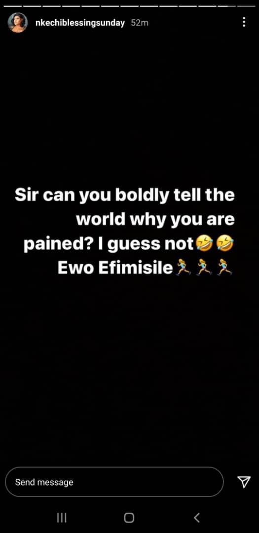 Nkechi Blessing's Instagram post [Instagram/nkechiblessingsunday]