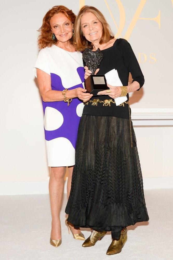 Diane von Furstenberg i Gloria Steinem/Getty Images