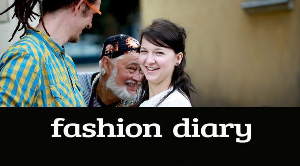 Fashion Diary: Krysia i Maciek - kolorowi studenci z Gdańska