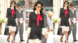 Best look: Amal Clooney w sukience Gucci