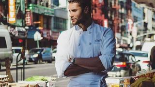 Gorący szef kuchni podbija Instagram