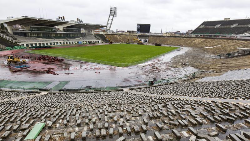 Puskás Ferenc Stadion bontása - Fotó: MTI Szigetváry Zsolt