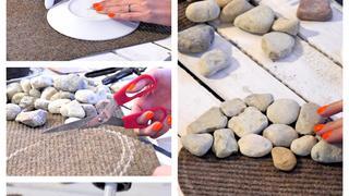 DIY: Eleganckie podstawki z kamienia
