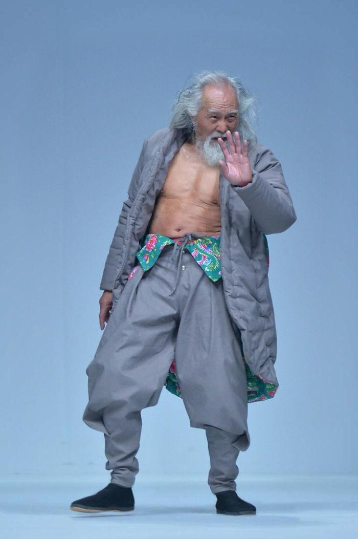 80-letni Wang Deshun