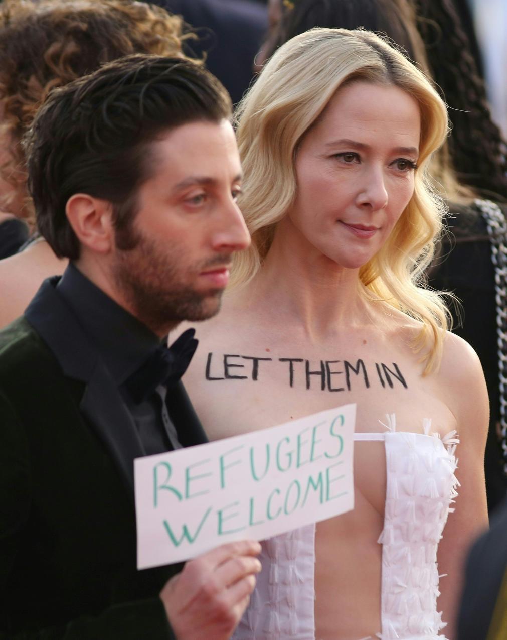 Gwiazdy protestują przeciwko polityce Trumpa