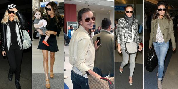 Lotniskowa moda gwiazd