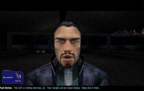 """8. """"Deus Ex"""" - gra łącząca w sobie elementy strzelanki i RPG."""