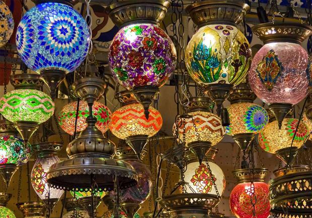 Tradycyjny turecki bazar