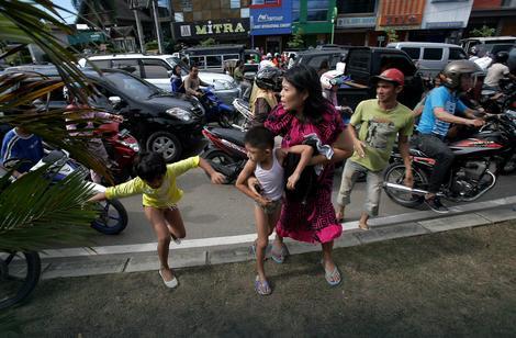 Zemljotres je na ulicama Džakarte izazvao paniku