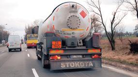 Tablice na ciężarówkach - czy wiecie co oznaczają?