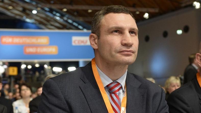 Vitalij Klicsko biztos testvére győzelmében /Fotó: AFP