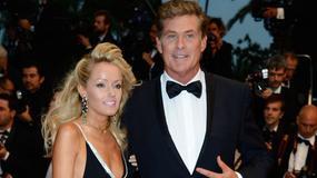 Hasselhoff chwali się w Cannesmłodszą o 30 lat dziewczyną