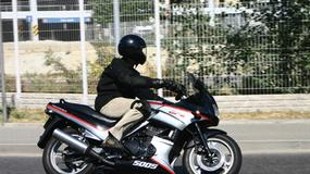Kawasaki GPZ 500S - Do serwisu tylko na chwilę