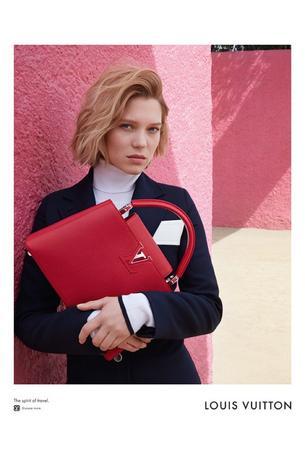 Lea Seydoux debiutuje w kampanii Louis Vuitton