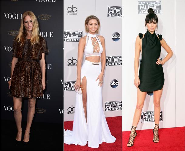 Najlepsze modelki 2015 r. według portalu models.com