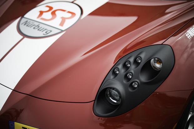 Prezentacja Assetto Corsa na torze Vallelunga. Alfa Romeo 4C