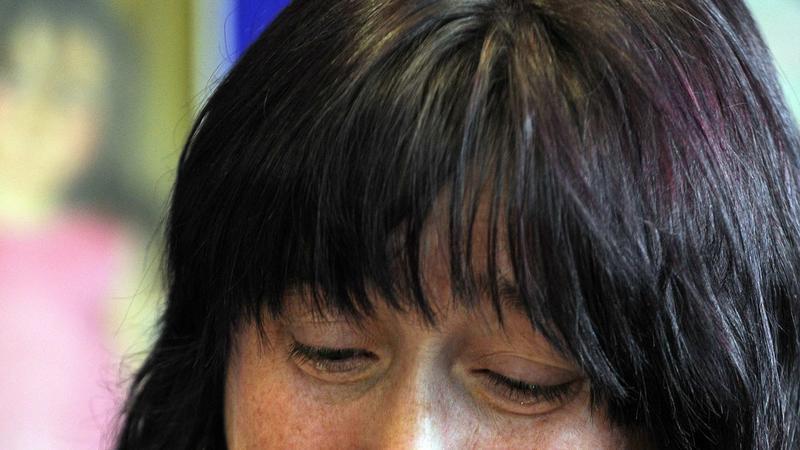 Matka zaginionej dziewczynki, fot. Rebecca Naden/Reuters