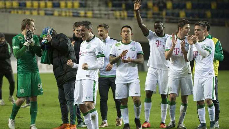 A Ferencváros bejutott az elődöntőbe / Fotó: MTI-Ilyés Tibor
