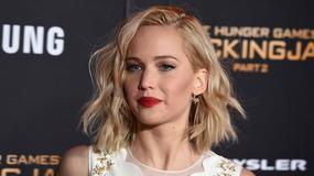 """Kobieca Jennifer Lawrence na premierze """"Igrzyska Śmierci. Kosogłos cz. 2"""" w Los Angeles"""