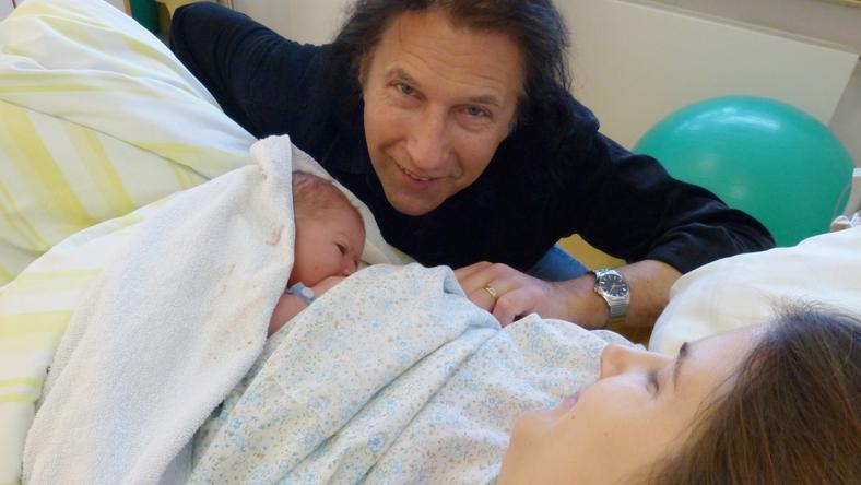Zeffer András boldog, hogy lánya, Szandra nagypapává tette a kis Márk megszületésével