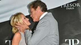 David Hasselhoff w namiętnym pocałunku...