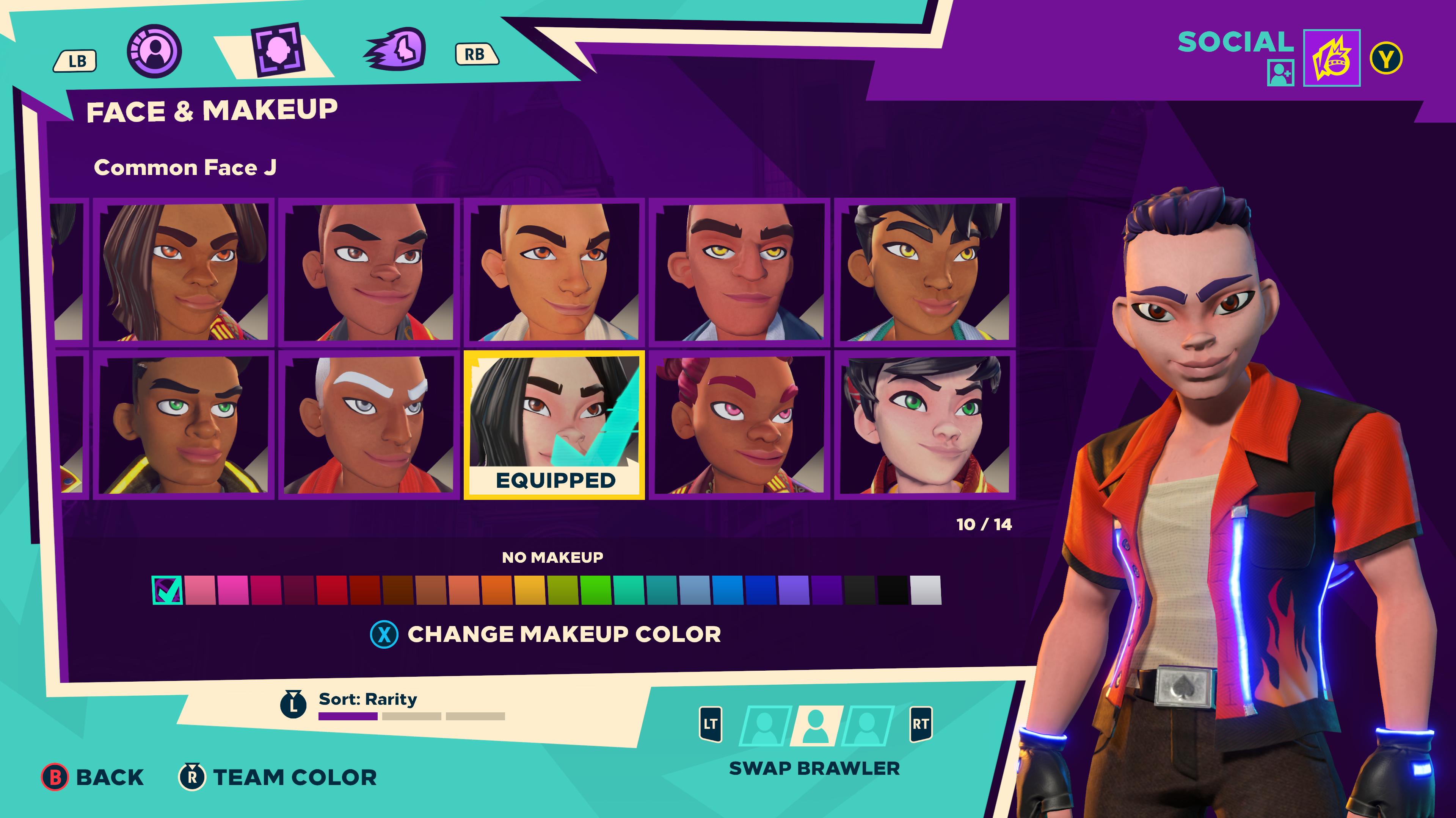 Hra ponúka bohaté možnosti úpravy vlastnej postavy.