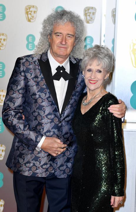 Brian May és Anita Dobson / Fotó: GettyImages