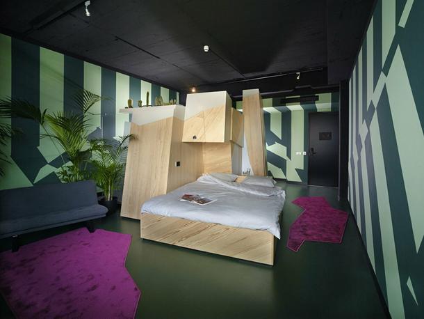 Pokój w rozmiarze mikro