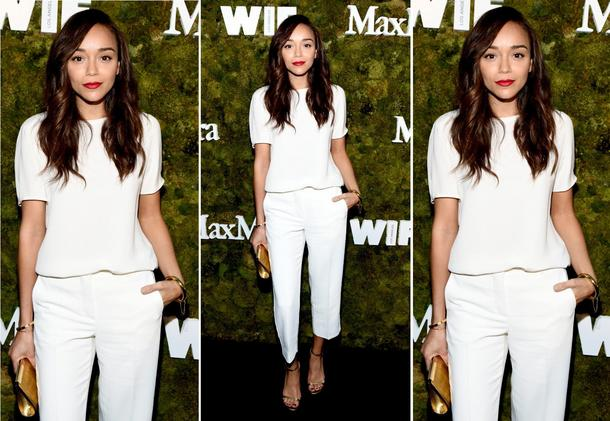 Best Look: Ashley Madekwe w Max Mara