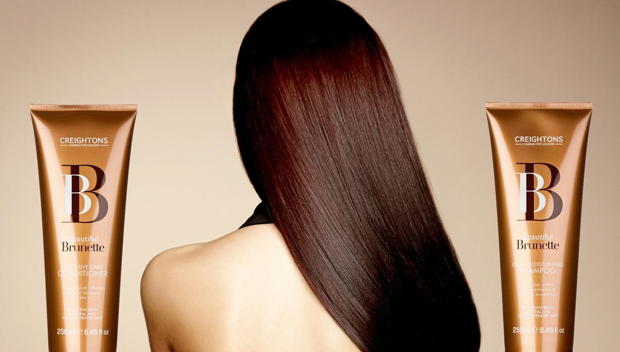 kosmetyk dla brunetki