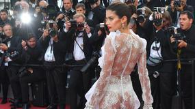 Sara Sampaio szaleje w Cannes z prześwitami