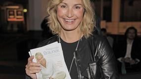Joanna Brodzik radosna i promienna