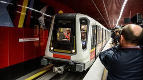 Pierwszy publiczny przejazd II linią metra w Warszawie