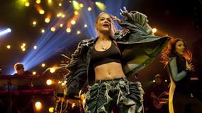 Rita Ora na koncercie w Madrycie. Piosenkarka zadziwia swoim strojem