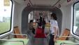 Autonomiczny tramwaj ATR, który porusza się bez szyn