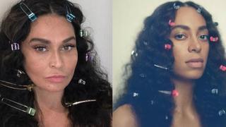 Te zdjęcia podbijają sieć! Mama Beyonce przebrała się za swoje córki