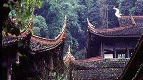 Chiny - Emei Shan, Święta Góra buddystów
