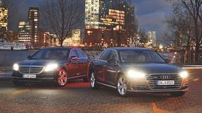 Audi A8 5.0 TDI kontra Mercedes S 350 d - szczyt luksusu
