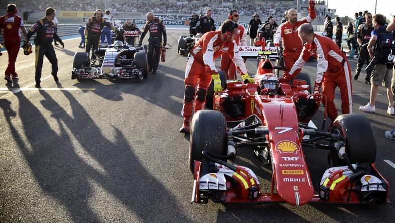 Ez még a Ferrari 2015-ös autója /Fotó: AFP