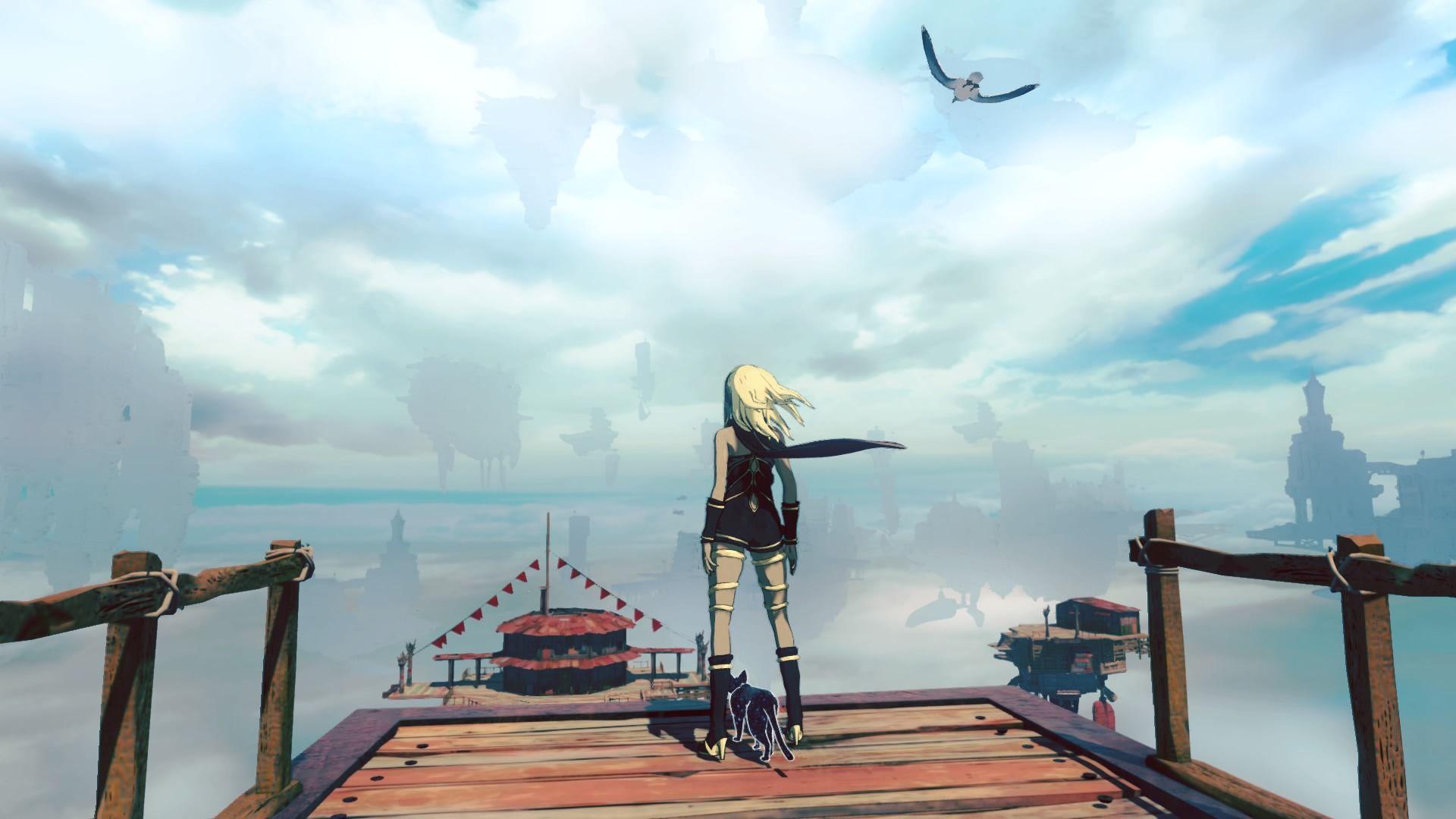 Krajinu v Gravity Rush 2 tvoria vznášajúce sa ostrovy