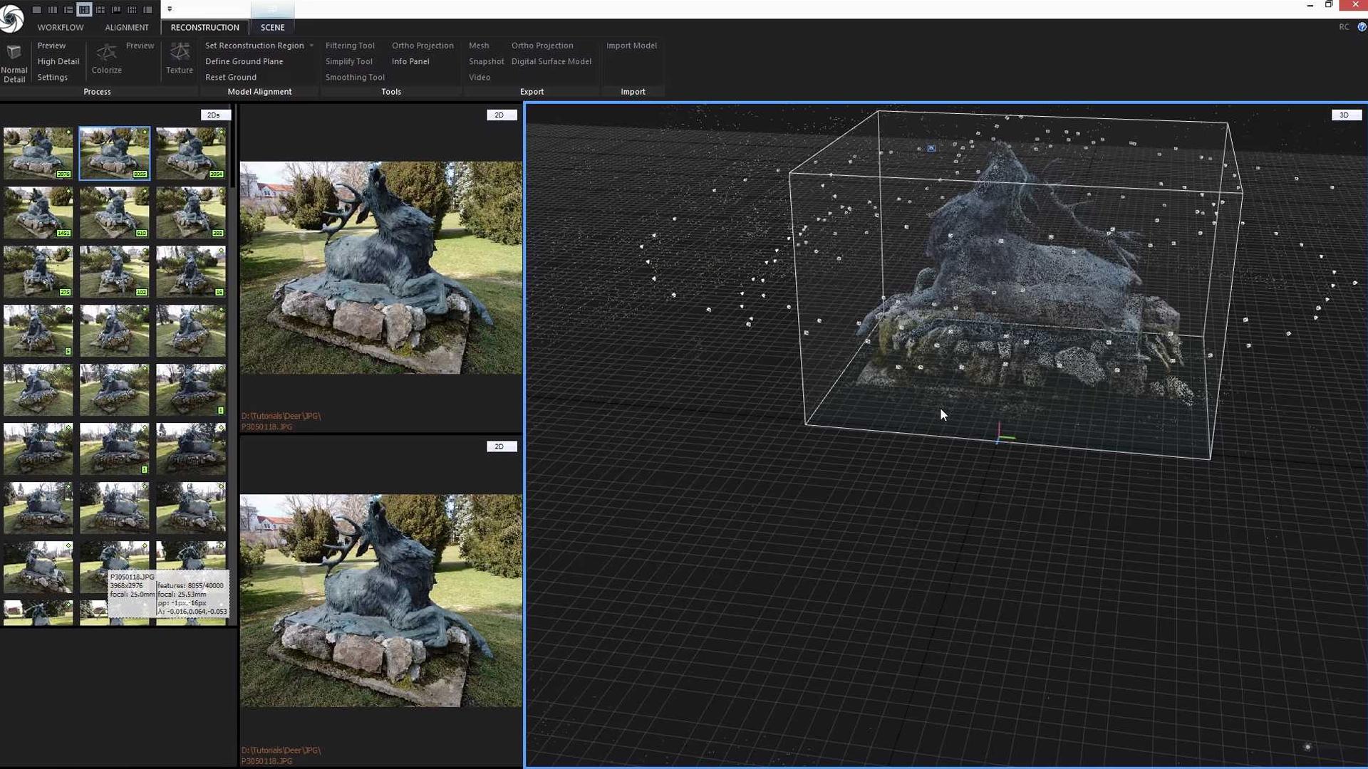 Fotogrametrický softvér dokáže vytvoriť digitálnu repliku objektu na základe obyčajnej fotografie.