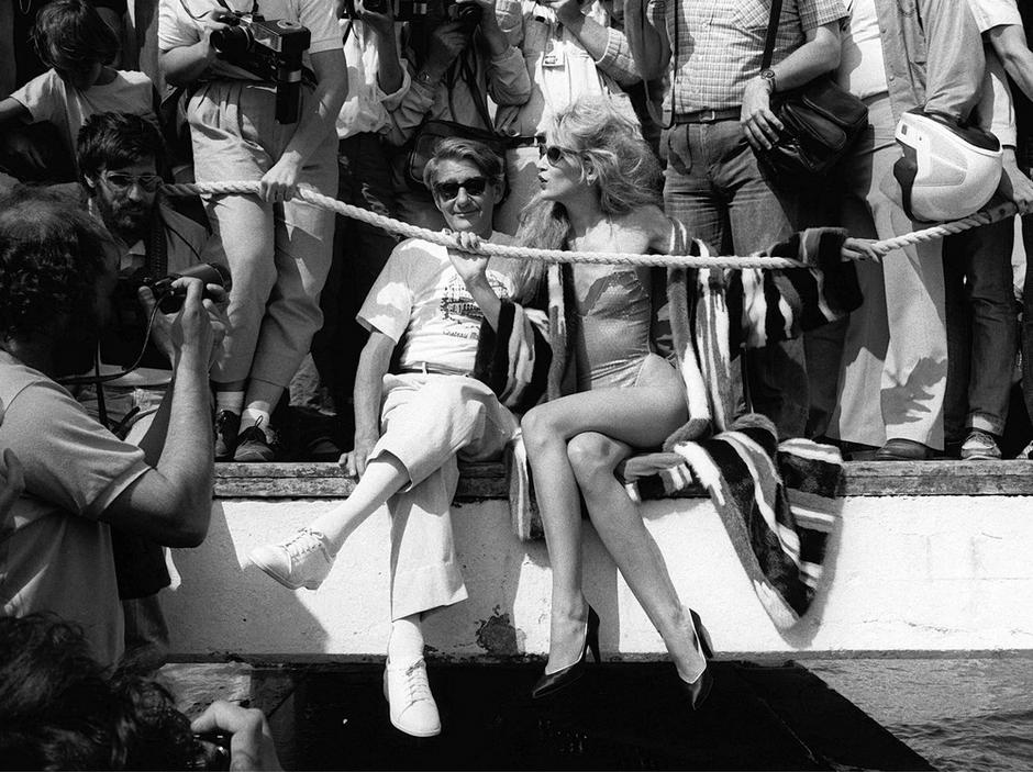 Cannes 1983, Helmut Newton z Jerry Hall