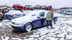 Giełda w Kownie - samochody prosto z lawety